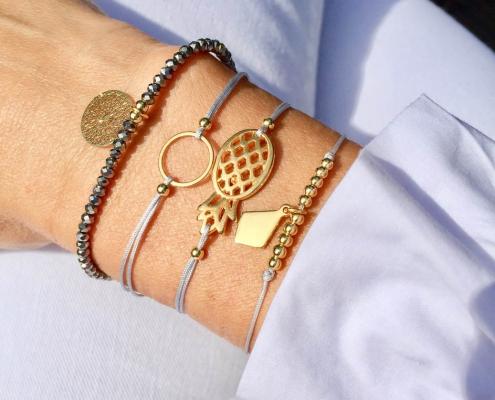 Perlenzimmer Essen - Armbänder mit Anhänger