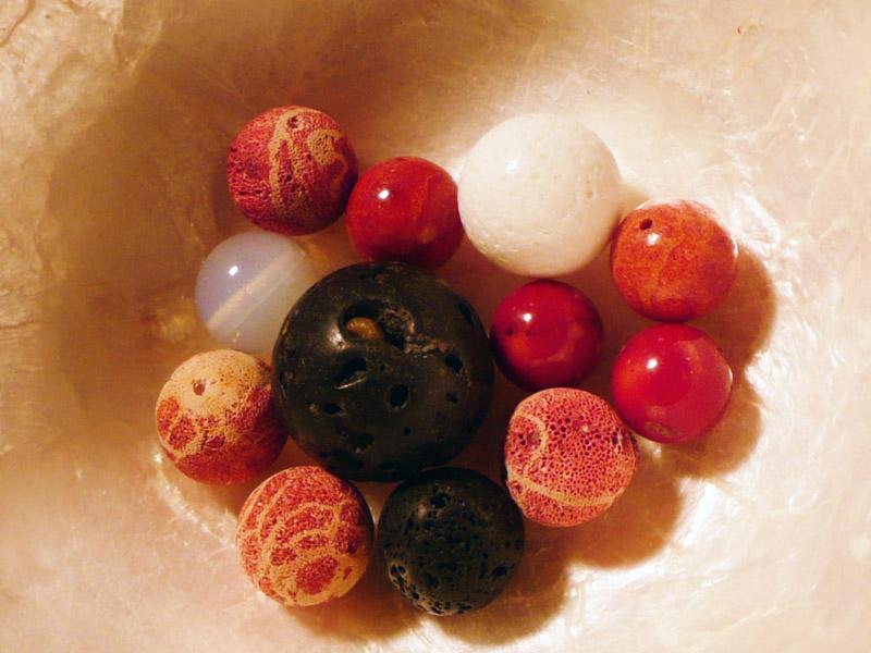 Perlenzimmer Essen - Halbedelsteine
